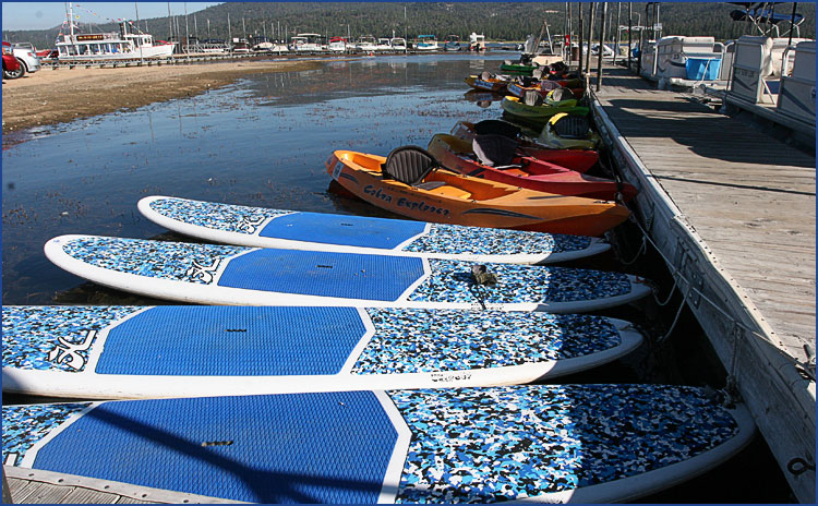 Stand Up Paddle Board and Kayak Rentals